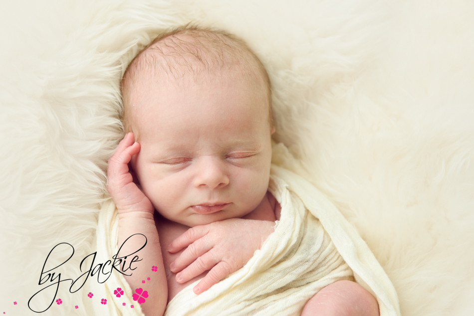 Photograph of newborn baby boy by Babies By Jackie near Pocklington, Yorkshire UK