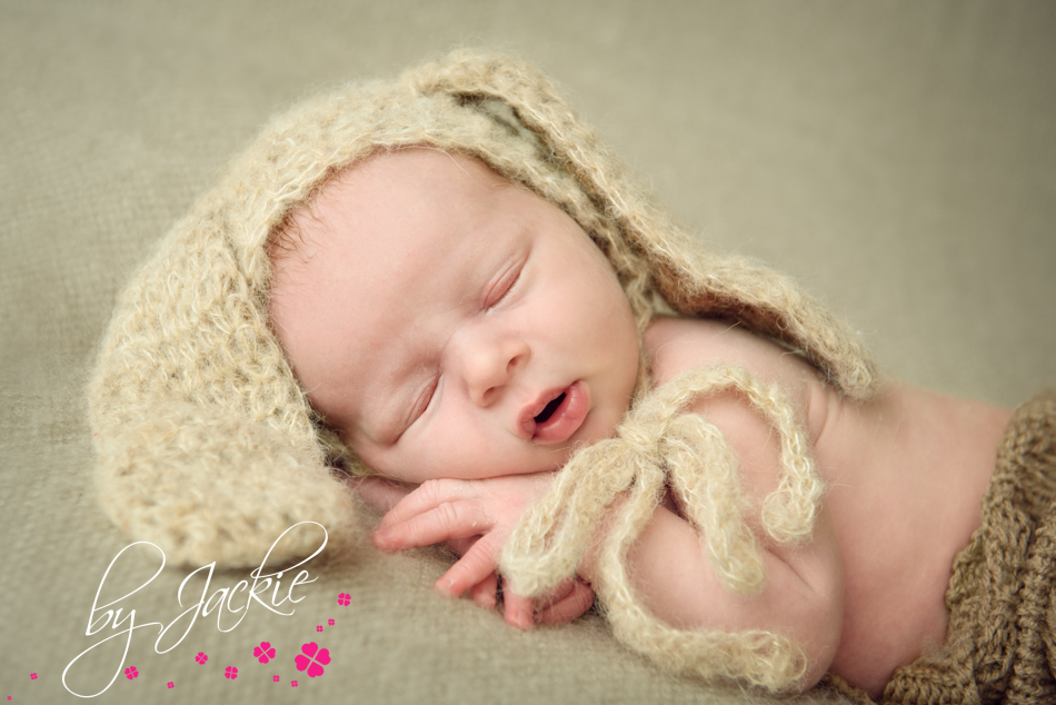Close up photograph of newborn baby boy by Babies By Jackie, near Howden, Pocklington and York