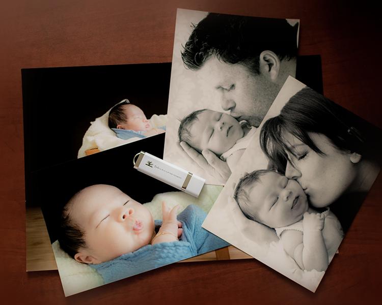 portrait packages, prints