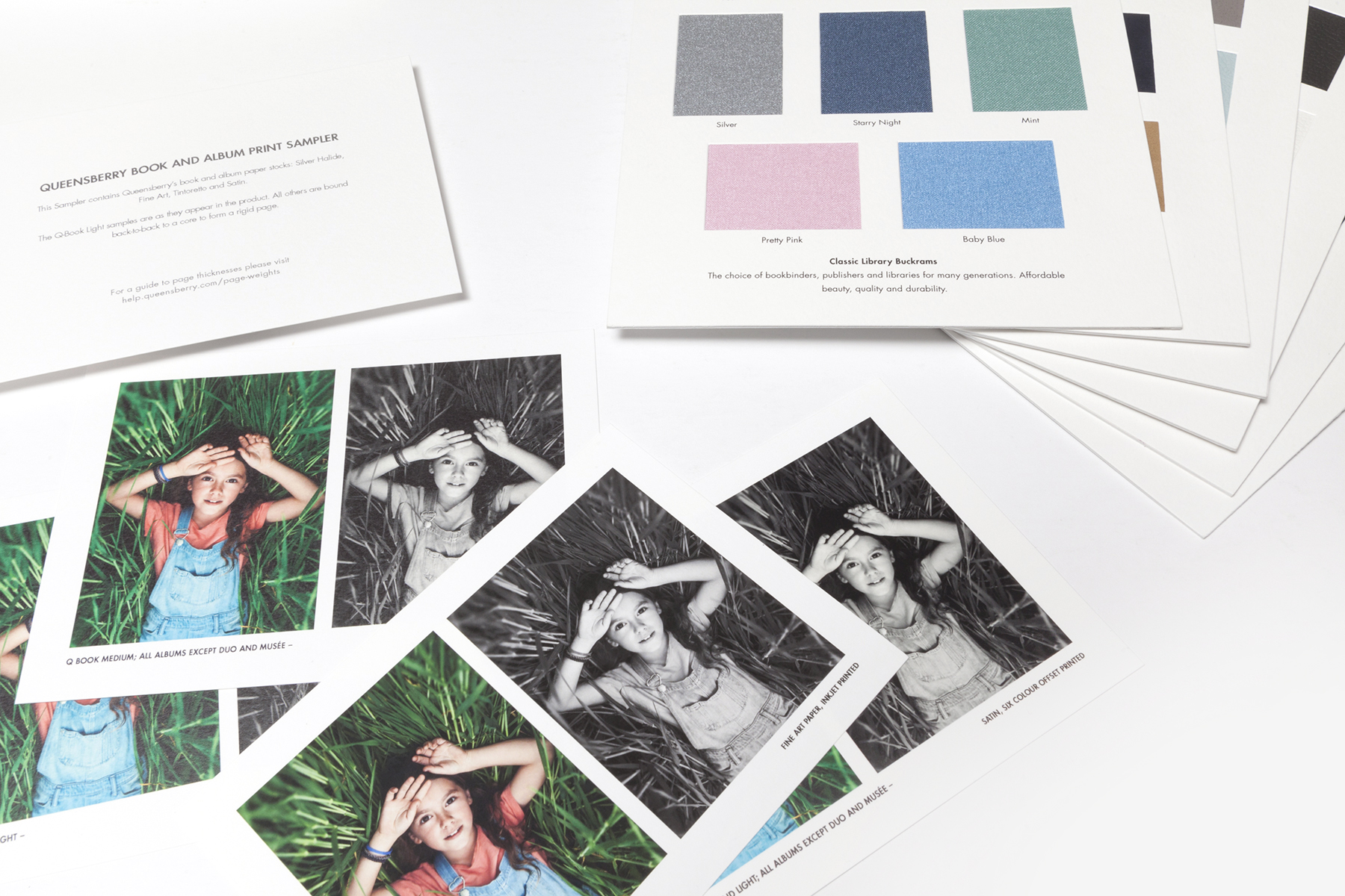 Queensberry Swatches and Paper Samples